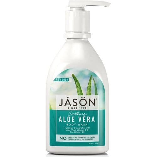Jasons Natural Organic Aloe Vera Body Wash